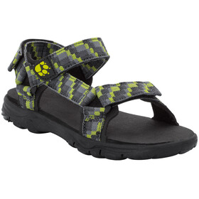 Jack Wolfskin Seven Seas 2 Sandals Boys green lime